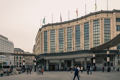 Brussels Central Train Station