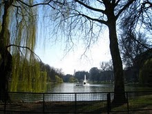 Ixelles Ponds Brussels